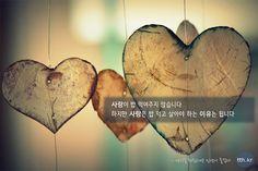 사랑이 밥 먹여주지 않습니다. 하지만 사랑은 밥 먹고 살아야 하는 이유는 됩니다. - 생각을 뒤집으면 인생이 즐겁다 #톡톡힐링