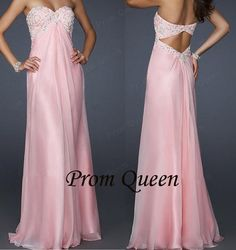 pink sweetheart prom dresses  bridesmaid dresses by PromQueenDress, $129.00
