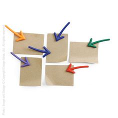 Keep yourself moving in the right direction with these fun magnets. Use them to post reminders, to-do lists, and other bits of inspiration.
