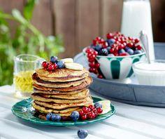 Sveler til middag er et populært alternativ til pannekaker. Disse små, lubne lappene smaker også godt til frokost eller lunsj.