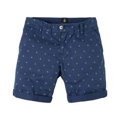 Shorts Deck Chino - These sporty Gaastra shorts feature a casual cut and high-quality material. They can be worn with a summer top or a casual t-shirt. Nautical Prints, Nautical Style, Nautical Fashion, Casual T Shirts, Summer Collection, Patterned Shorts, Anchor, Bermuda Shorts, Deck
