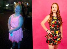 Maddy, who struggled with her weight growing up, recently lost 40 lbs. thanks to dance, cheerleading, and swimming.