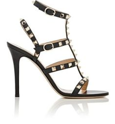 Valentino Rockstud Multi-Strap Sandals at Barneys New York