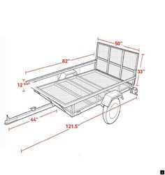 Sportsman's Guide has your Northstar Sportstar I ATV/Utility Trailer Kit available at a great price in our Towing collection Work Trailer, Trailer Diy, Trailer Plans, Trailer Build, Utility Trailer Kits, Homemade Trailer, Welding Trailer, Atv Trailers, In Case Of Emergency