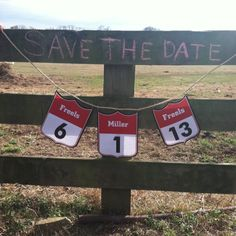 Rodeo back number save the date.  This is THE coolest thing I have ever seen!