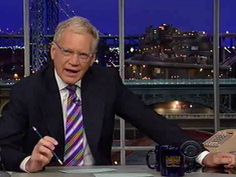 Letterman On Obama Denying He Set A Red Line: 'The Guy Has Learned How To Bullshit'