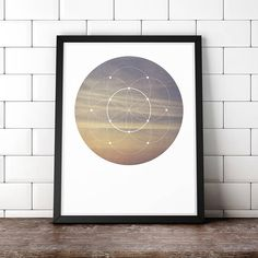 Zen Digital Download Photo, Minimalist Art, Sacred Geometry Wall Art, Fine Art Photography, Yoga art, Sky Print, Sacred geometry download