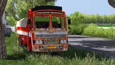 Indian Ashok Leyland Lorry Traffic Beta mod for Hi Guys,This is just a low poly traffic packPlease dont laugh when i say it only tested in & for latest versions. Bus Games, Truck Games, Truck Mods, Car Mods, Star Bus, Ashok Leyland, Desktop Background Pictures, Luxury Bus, New Bus