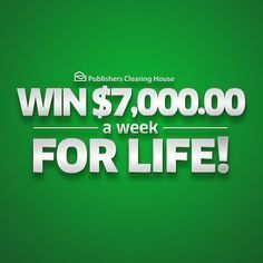 I ZS claim WINNER publishers clearing House accept the offer of the SuperPrize