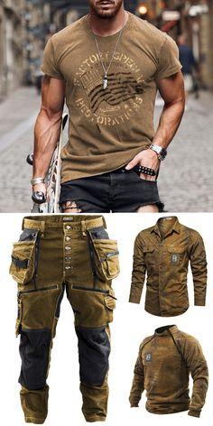 Forarm Tattoos, Outdoor Fashion, Men's Jackets, Mens Fashion, Fashion Outfits, Gentleman Style, Mens Clothing Styles, Casual Chic, Cool Style
