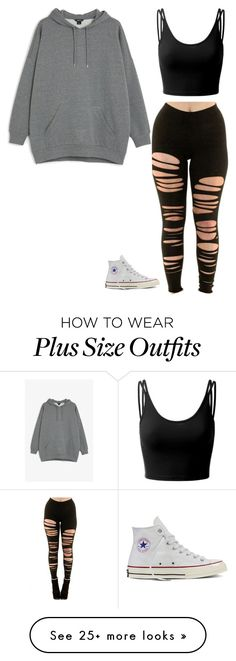 """""""[for my book]"""" by the-story-untold on Polyvore featuring Monki, Doublju and Converse"""