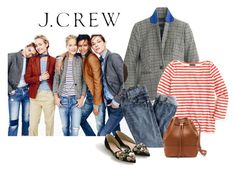 """Fall Jcrew"" by dauchka22 ❤ liked on Polyvore featuring J.Crew, women's clothing, women's fashion, women, female, woman, misses, juniors, jcrew and jcrewclassics"