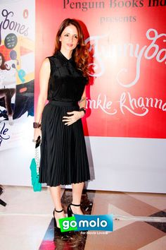 Suzanne Khan at the Launch of 'Twinkle Khanna's book 'Mrs. Funnybones' in Mumbai