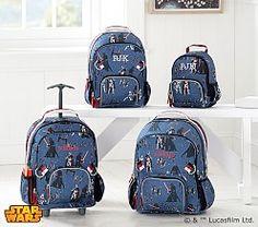 Fairfax Dark Green Navy Stripe Backpack