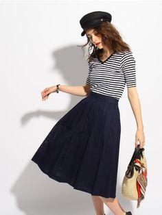 | aquagirl | Style Snap【スタイル スナップ】直営通販 | ワールド オンラインストア
