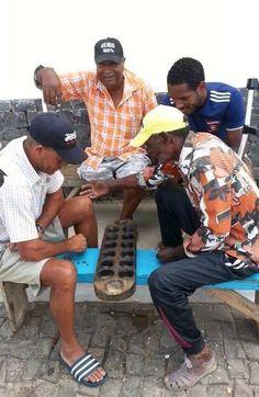 Découverte : au Cap-Vert, c'est l'été toute l'année ! #Awale #CapVert LP/Michel Valentin.)