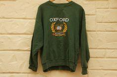 Vintage 80s-90s Oxford University Sweatshirt by SycamoreVintage