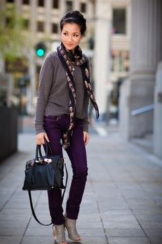 LOVE. check out the scarf with skulls on it :) (alexander mcqueen I think)