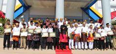 Lima Belas Desa di Dompu Dapat Penghargaan Bebas STBM