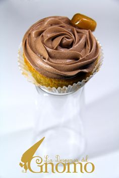Werther's Original Cupcakes --Recipe is in Spanish-- Cupcake Recipes, Cupcake Cakes, Cup Cakes, Pasta, Crepes, Sweet Recipes, Sweet Tooth, Muffins, The Originals