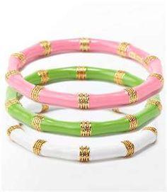 Lilly Pullitzer bracelets