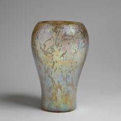 Vase -  Designer: Designed by Louis Comfort Tiffany (American, New York 1848–1933 New York) Maker: Tiffany Studios (1902–32) Date: 1912–15