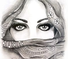 pencil drawing of eyes. artist steph z.
