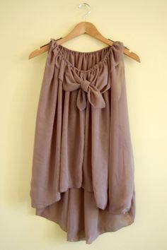 Silk gathered collar tank, See High/low hemline draft for gathered collar silk tank.  How to draft your own asymmetrical hem dress pattern by thisblogisnotforyou.com