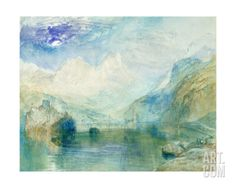 The Lowerzer See Giclee Print by J. M. W. Turner at Art.com