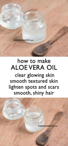 Beauty Tips How to make Aloe Vera Oil with benefits and uses - Aloe vera is the god of herbal remedies as it can cure almost anything and everything (note, mild health and skin problems). Aloe vera essential oil is used . Natural Hair Mask, Natural Hair Styles, Natural Skin, Lighten Skin, Skin Problems, Health Problems, Aloe Vera Gel, Back To Nature, Diy Makeup