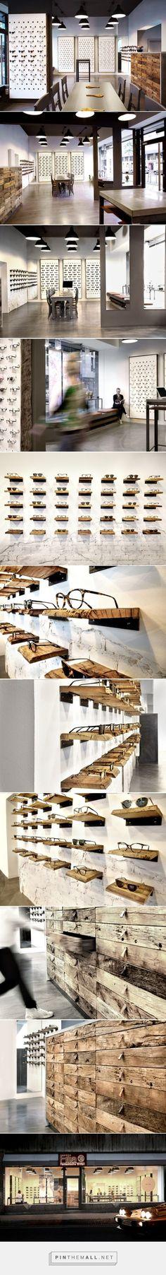 Filia76 eyeware store by Claudia Weber, Kassel – Germany » Retail Design Blog
