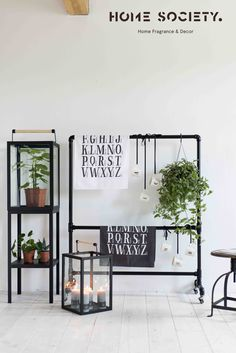 Home Society - Metal Industrial Alphabet Teatowels and Green Metal Workshop, Alphabet, Industrial, Lifestyle, Decoration, Green, House, Furniture, Home Decor