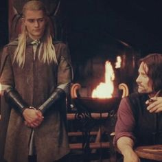 Legolas and Aragorn Legolas And Aragorn, Thranduil, Gandalf, Fellowship Of The Ring, Lord Of The Rings, Orlando Bloom, Frodo Baggins, Thorin Oakenshield, J. R. R. Tolkien
