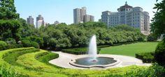 Central Park's Conservatory Garden by Harryfn on Dreamstime.com