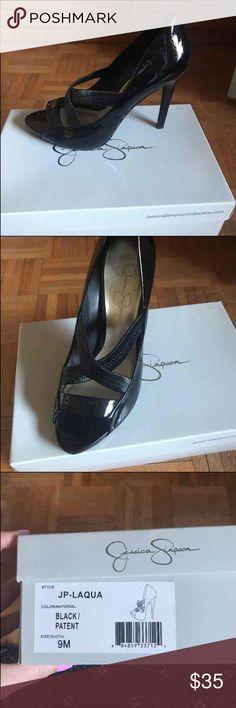 Jessica Simpson Pump Jessica Simpson Pump. Worn once. Size 9 Jessica Simpson Shoes Heels