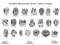 Genuine Authentic Discontinued Charms all European Pandora Chamilia Pandora Beads, Pandora Bracelet Charms, Pandora Rings, Pandora Jewelry, Pandora Catalogue, Pandora Collection, Mora Pandora, Chamilia Jewelry, Prom Earrings