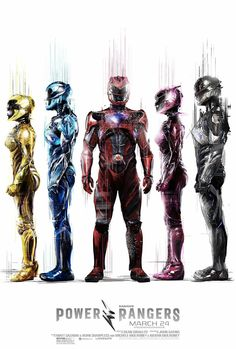 Power Rangers (2017 dir. by Dean Israelite) Five ordinary teens must become something extraordinary when they learn that their small town of Angel Grove - and the world - is on the verge of being obliterated by an alien threat. Chosen by destiny, our heroes quickly discover they are the only ones who can save the planet. But to do so, they will have to overcome their real-life issues and before it's too late, band together as the Power Rangers.