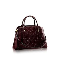 Montaigne MM - Monogram Vernis Leather - Handbags | LOUIS VUITTON