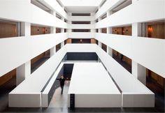 Galeria - Hotel e Museu Xi'an Westin / Neri & Hu - 2 A As Architecture, Architecture Interiors, Contemporary Architecture, Neri And Hu, Museum Hotel, Restaurants, Hotel Restaurant, D House, Design Research