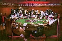 Coolidge, Cassius Marcellus (b,1844)- Lost (Poker) -2b