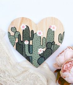 Cactus Gift Cactus Wall Art Cactus Painting Cactus Decor – From Parts Unknown Cactus Drawing, Cactus Painting, Cactus Wall Art, Painting On Wood, Drawing Drawing, Decoration Cactus, Cactus Craft, Cactus Gifts, Box Creative