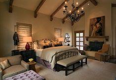 decoracion dormitorio elegante beige