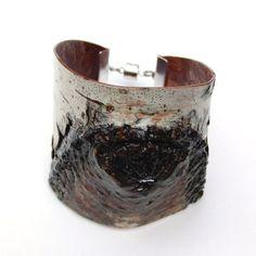 birch bark cuff