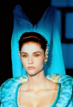 """An Endless List of Actors and Actresses in Fairytale Adaptations Alessandra Martines in Cave of the Golden Rose (""""Fantaghirò"""", Italy, Movie Costumes, Character Costumes, List Of Actors, Star Wars Games, Historical Costume, My Princess, Fascinator, Walt Disney, Actors & Actresses"""