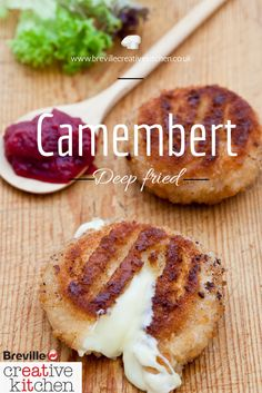 Our easy deep fried camembert recipe is quick to cook and easy to make.