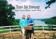 An enjoyable three-day itinerary for kicked back fun and recreation at.  Fairy Stone State Park.