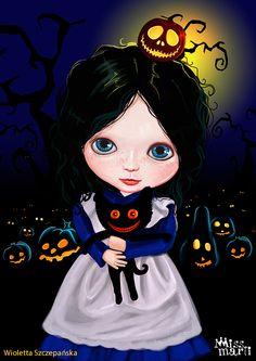 Halloween by Wioletta , via Behance