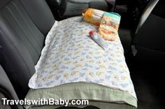 Tips and advice for traveling by car with your baby, toddler, or young child . For when we drive 5 hours from the in-laws' house to Disney World Toddler Travel, Travel With Kids, Beach Trip, Vacation Trips, Family Vacations, Vacation Ideas, Road Trip With Kids, Road Trip Hacks, Travel Activities