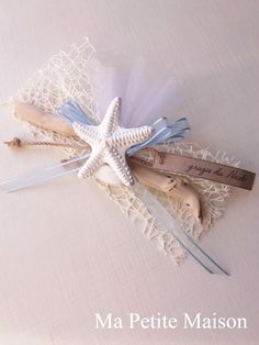 Ma Petite Maison: Segnaposto a tema marino Beach Wedding Favors, Wedding Gifts, Wedding Decorations, Christmas Decorations, Butterfly House, Sweet 16 Parties, Sea Theme, Beach Themes, Diy And Crafts