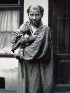 We rarely see a photo of Gustave Klimt. Very prolific. KLIMM4745521674_d1707f76f2_z